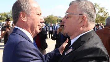 Bomba iddia: Belediye Başkanı Kesimoğlu, Muharrem İnce'ye kafa attı